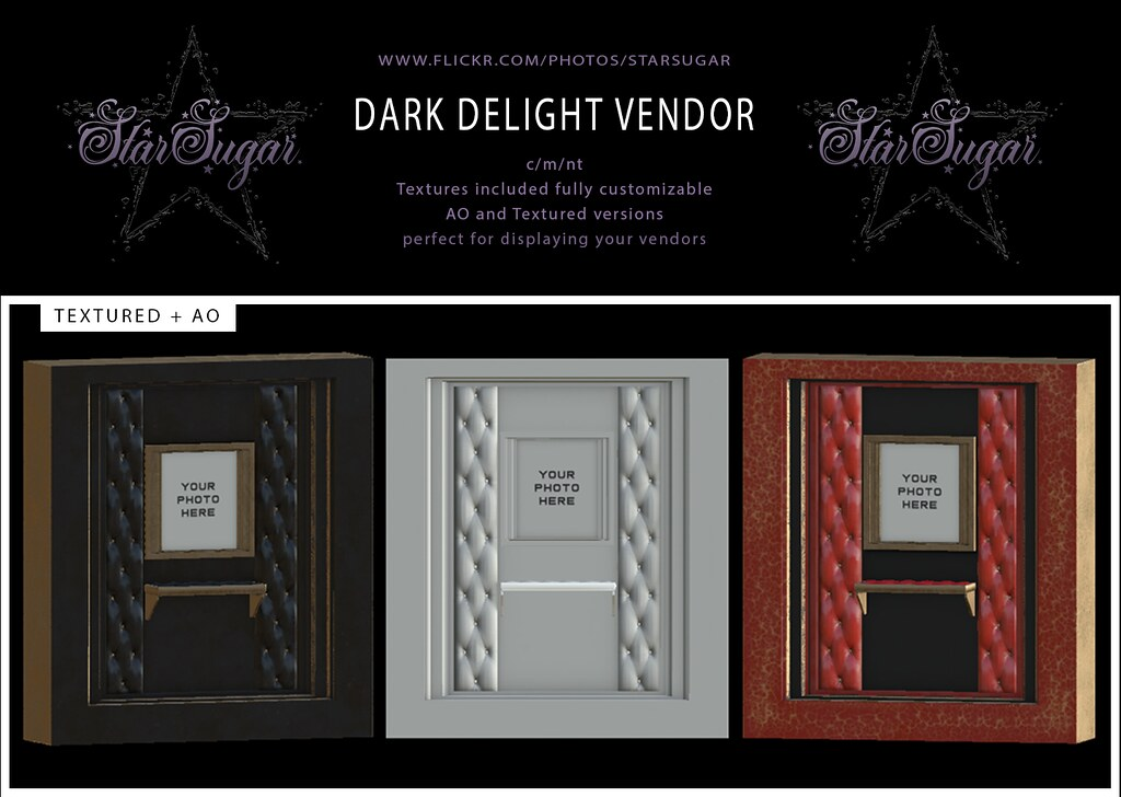 Dark Delight vendor Add