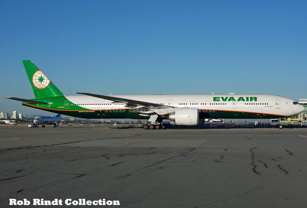 EVA Air B777-3AL/ER B-16737
