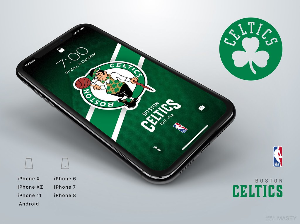 Boston Celtics iPhone Wallpaper