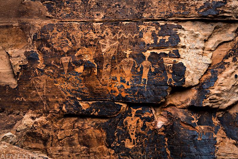 Chevelon Canyon Anthropomorphs