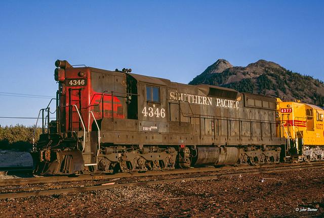 SP 4346 at Black Butte, CA
