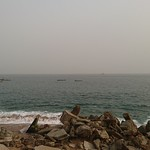 Océan Atlantique à Vridi à Abidjan
