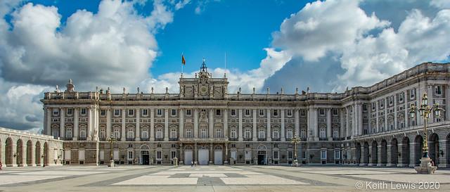Celebrating Europe # 17  Royal Palace Madrid  Spain