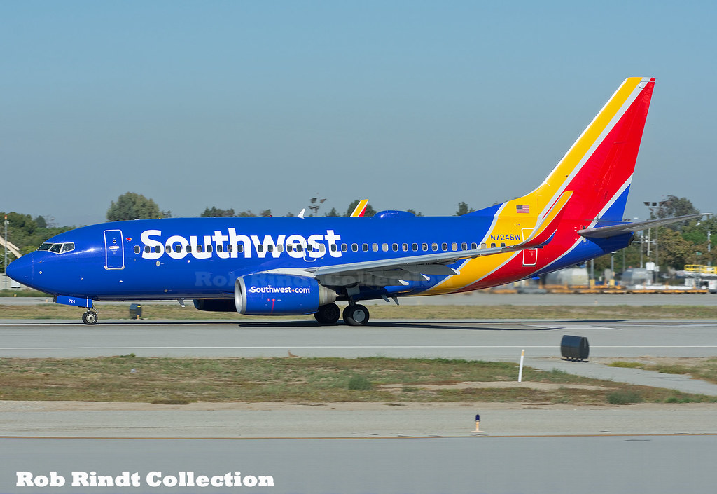 Southwest Airlines B737-7H4(WL) N724SW