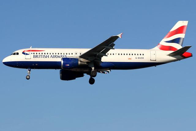 British Airways | Airbus A320-200 | G-BUSK | London Heathrow