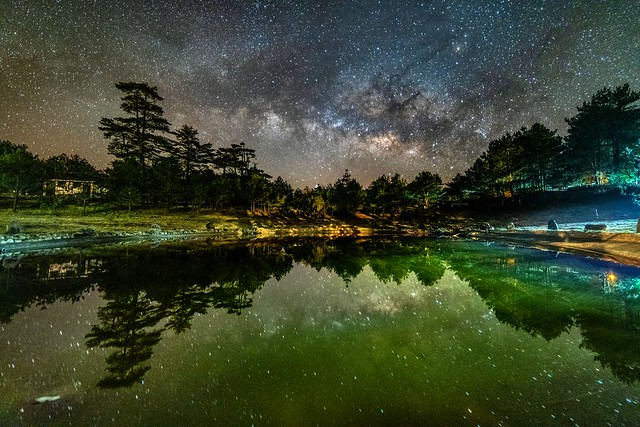 福壽山農場●露營區~銀河星空~  Milky way