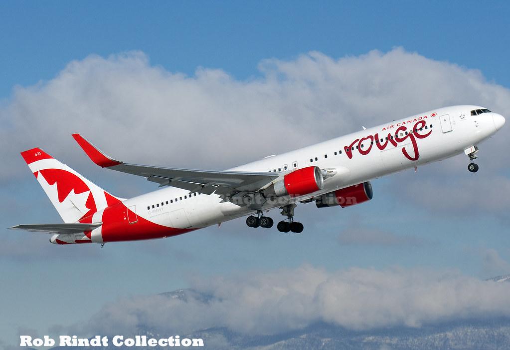 Air Canada B767-333/ER(WL) C-FMWY