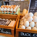 Eggs on sale at Pickles of Preston