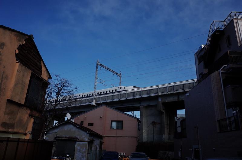 06東京いい道しぶい道西大井のんき通り新幹線