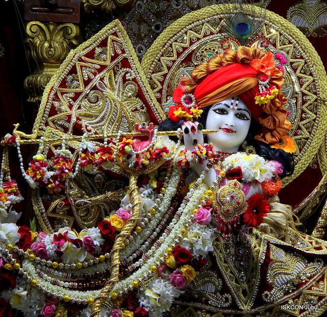 ISKCON Juhu Sringar Deity Darshan on 23rd Feb 2020