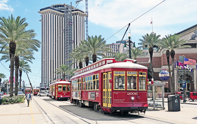 Streetcars. New Orleans.