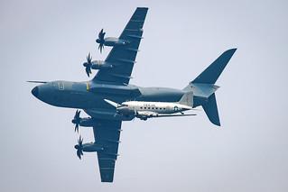 54+22 GAF A400M and C-47B Skytrain