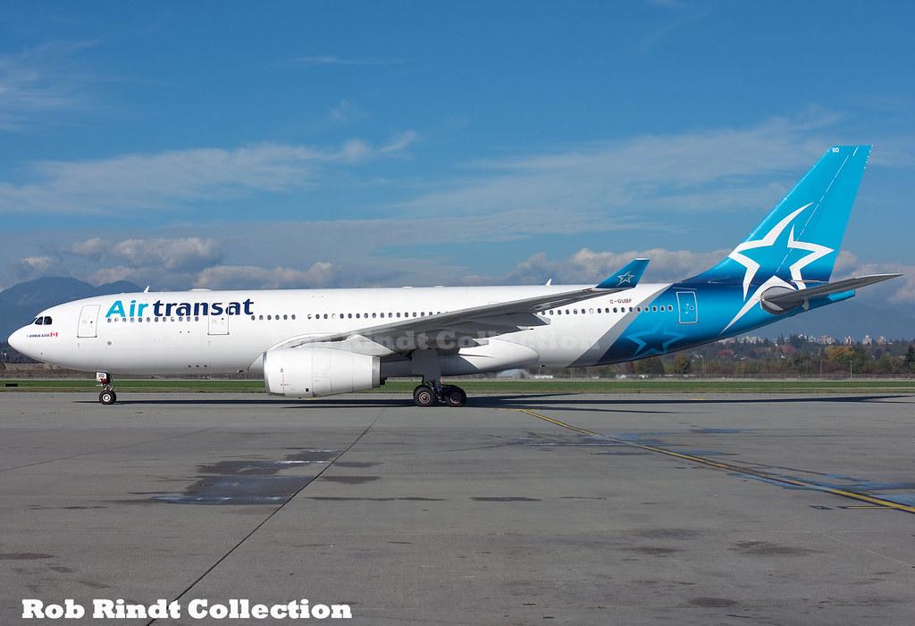 Air Transat A330-243 C-GUBF