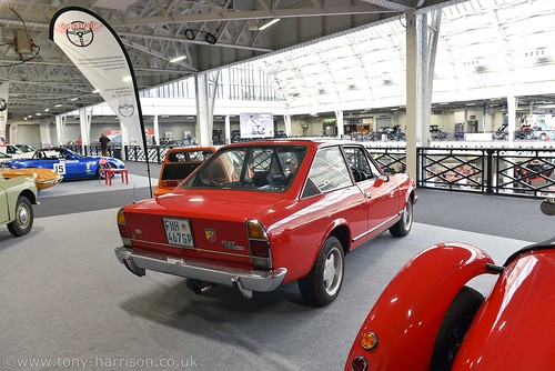 London Classic Car Show Olympia 2020 Fiat 124 for sale Photo