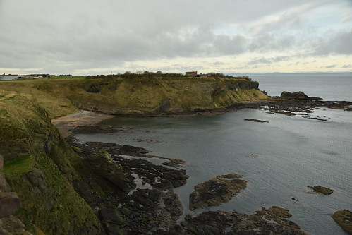 Harbour of Tantallon Castle