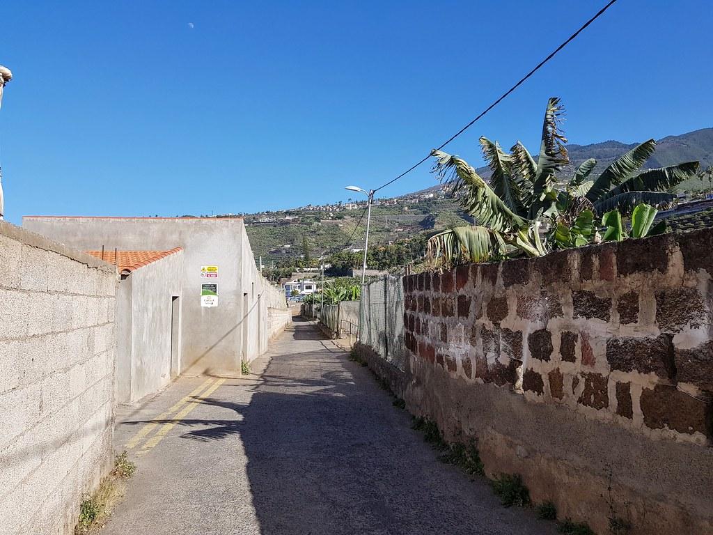 Walk to Plata Bollullo, Tenerife