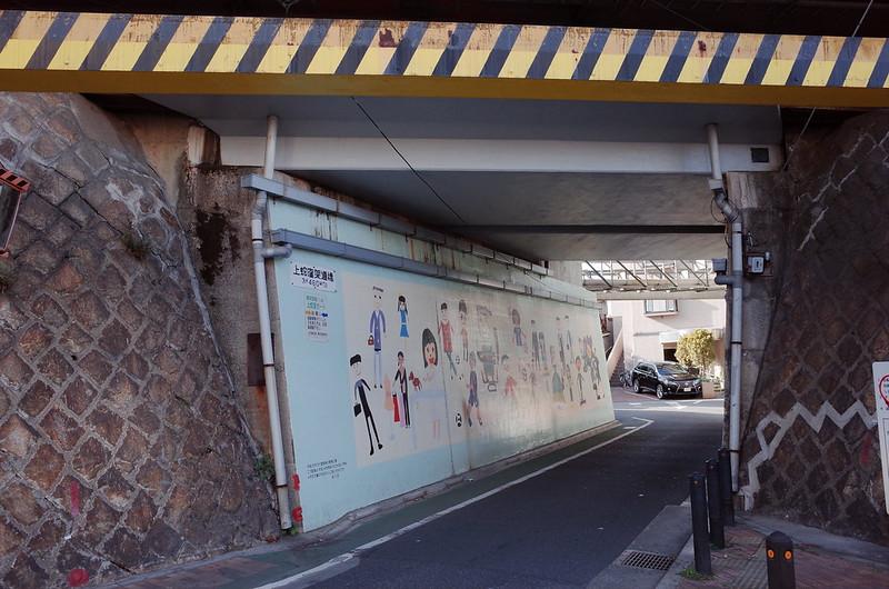 03東京いい道しぶい道西大井のんき通り西大井駅前上蛇窪架道橋