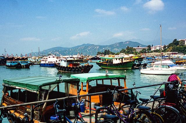 Harbour view, Cheung Chau Wan, HK