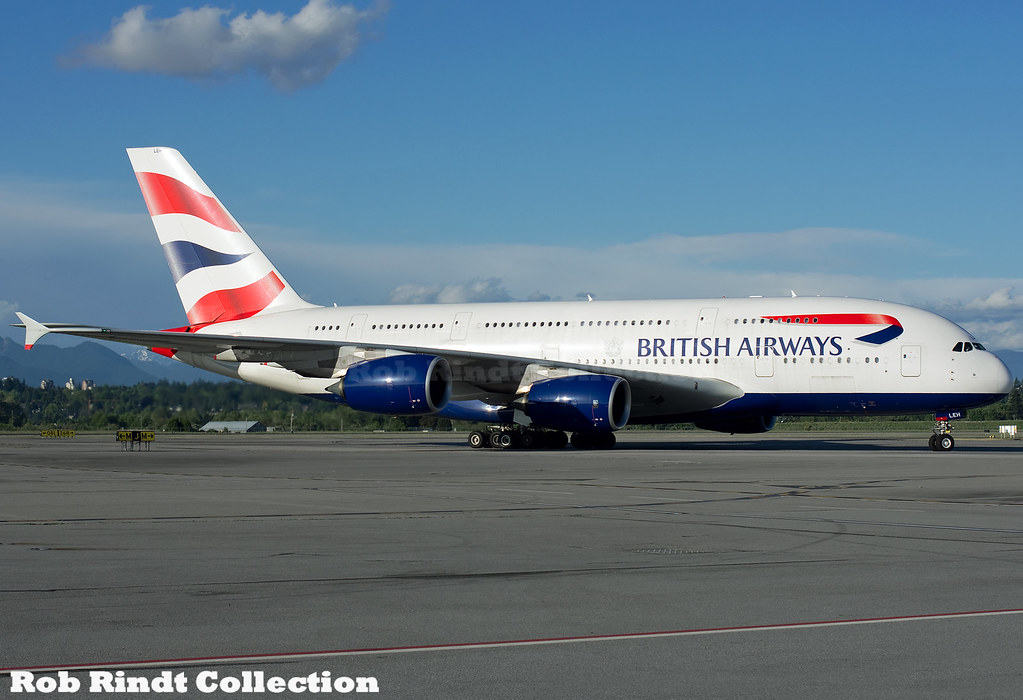 British Airways A380-841 G-XLEH