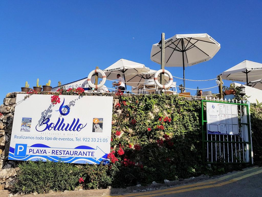Restaurante Bollullo Beach, Tenerife