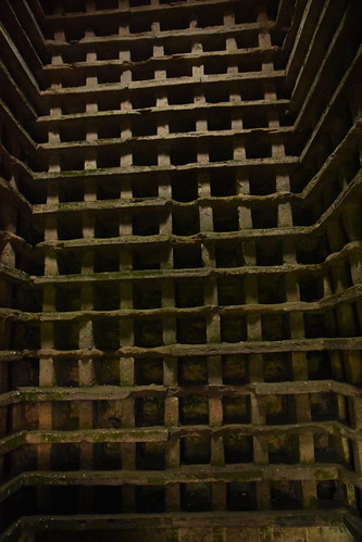 Inside the Doocot