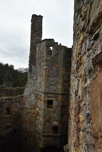 The Ruins of Dirleton Castle