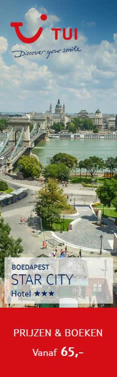 Goedkoop op vakantie naar Boedapest | Star City Hotel Boedapest