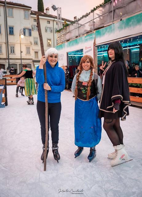 Cosplay senza età on Ice
