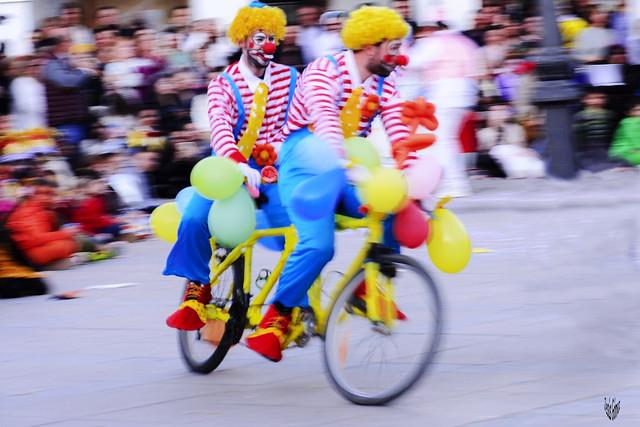 Carnaval, en Dos Barrios ( Toledo )