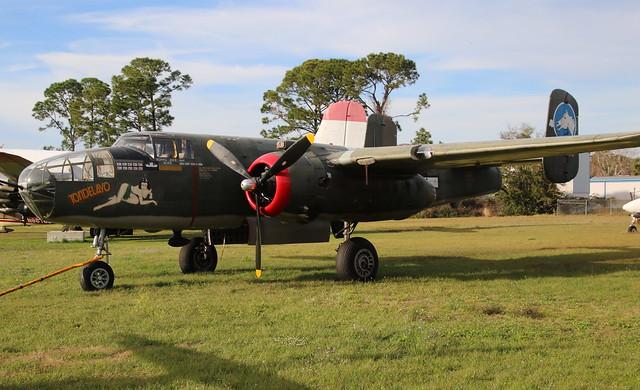 North American B-25 Mitchell N3476G New Smyrna Beach 04/02/20
