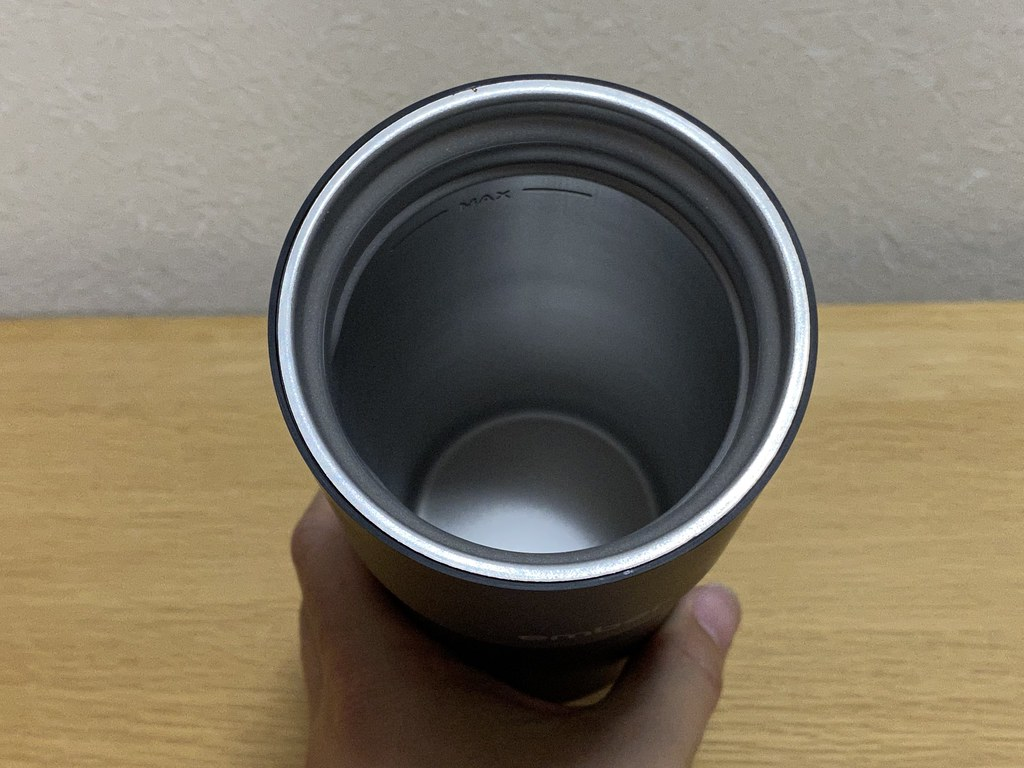 Inside of Ember Travel Mug 2