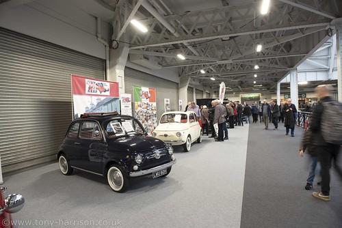 London Classic Car Show Olympia 2020 Fia 500 club Photo
