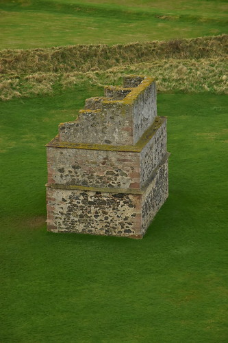 The Doocot from the Mid Tower
