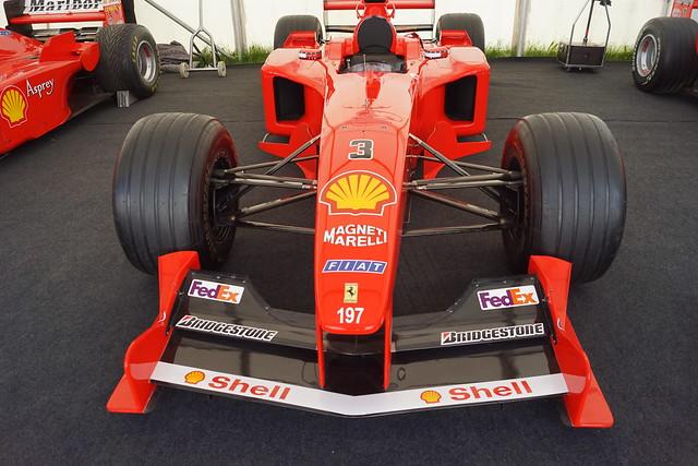 Ferrari F1-2000 3.0-litre V10 2000, Michael Schumacher at 50, Speed Kings, Motorsport's Record Breakers, Goodwood Festival of Speed