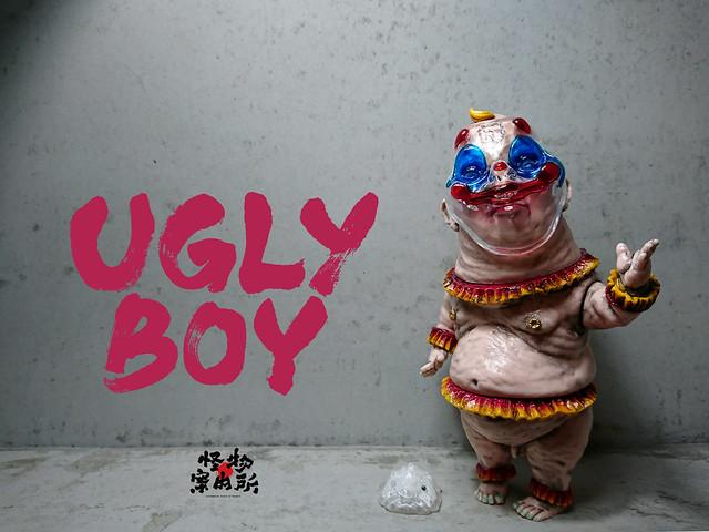 癸 Kui Studio - 《怪物案內所》UGLY BOY 抽選開始!