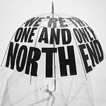 We're the one and only North End (umbrella)