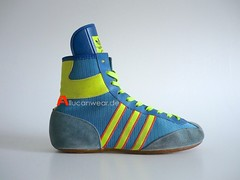 VINTAGE ADIDAS FREISTIL WRESTLING SPORT HI SHOES / HI TOPS