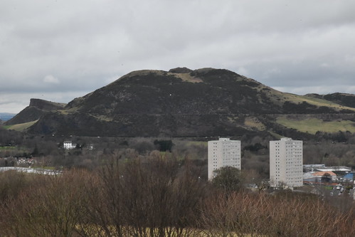 Arthur's Seat from the Top of the Tower