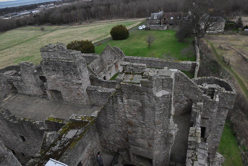 From the Top of the Tower House Looking Down