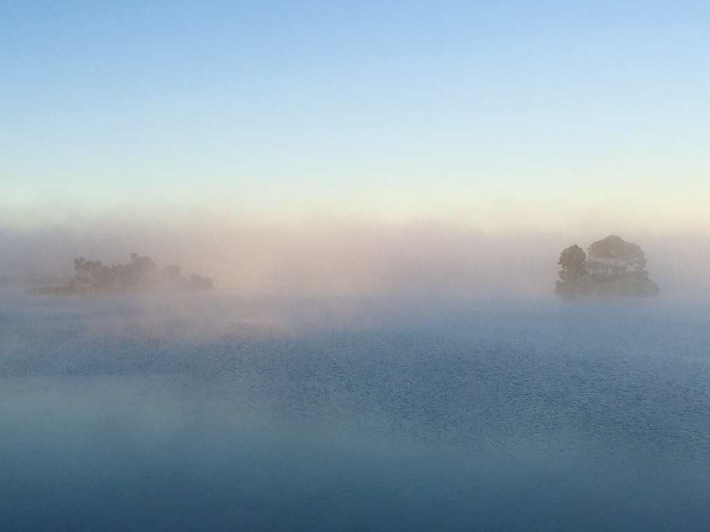 54/366 In Explore. Sunday morning mist on the mighty Murray River.