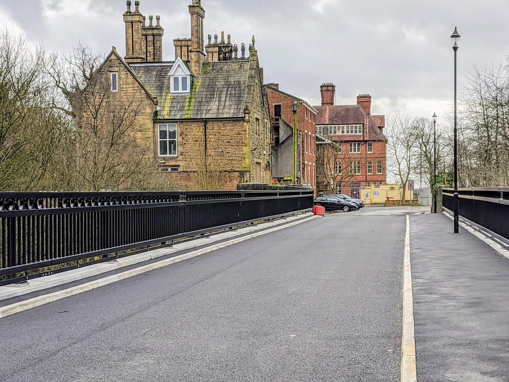 New Vicars Bridge in Preston