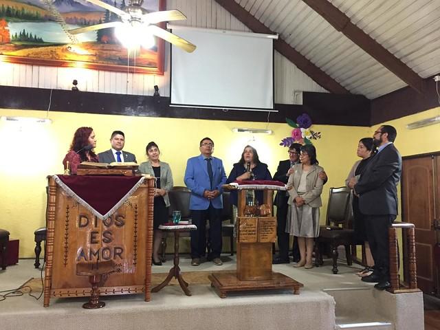 Bienvenida a sus Pastores
