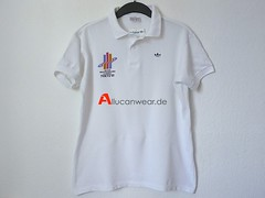 UNWORN 1991 VINTAGE ADIDAS TOKYO 91 WORLD CHAMPIONCHIPS IN ATHLETICS POLO SHIRT