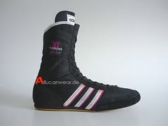 1993 VINTAGE ADIDAS TRAINING BOXING HI SHOES / HI TOPS