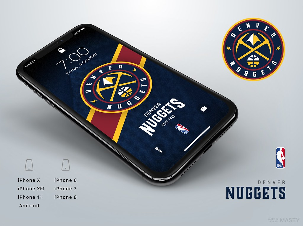 Denver Nuggets iPhone Wallpaper