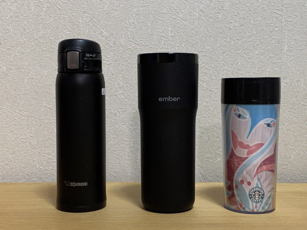 Ember Travel Mug 2 and other mug bottles