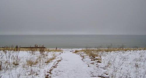 Lake Michigan at Platte Plains