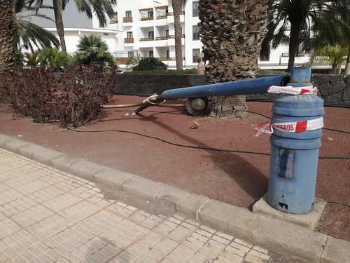 Incidencia en Lanzarote por el temporal