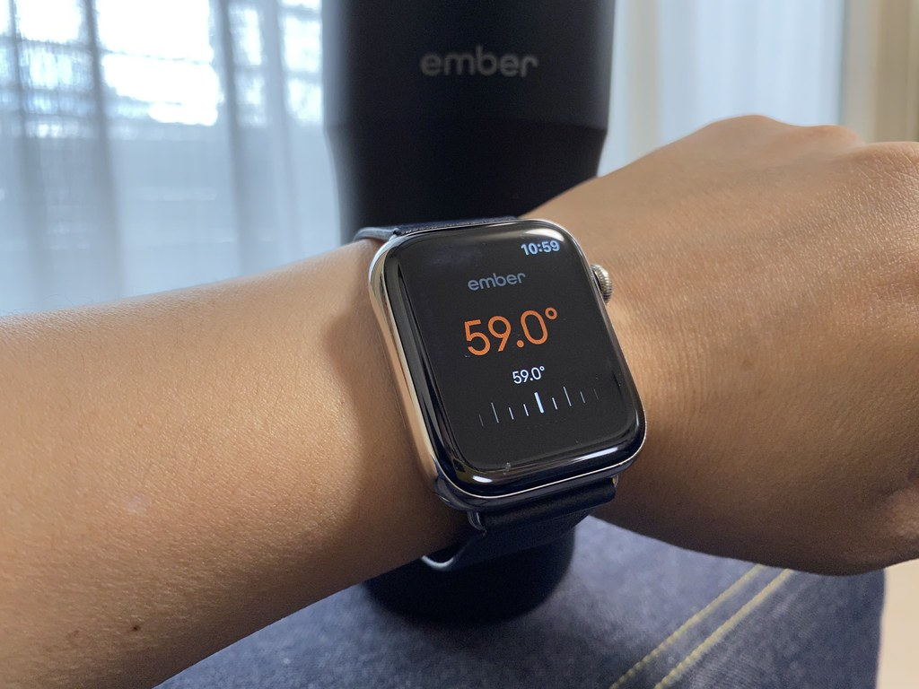 Ember on Apple Watch