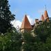 Les toits du château de Chassy (XVe siècle)